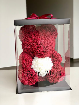 Mother's day special - best mom / choose color bear