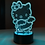 Thumbnail: LED LAMP - Kitty Design