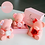 Thumbnail: Small Mother's Day Pink Bear with Rose