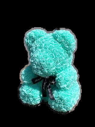 Flower Foam Bear - Mint