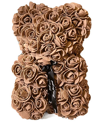 Kleiner Blumenschaumbär - Braun