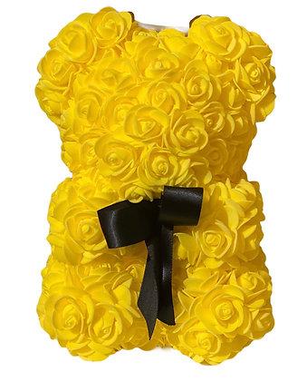 Small Flower Bear - Yellow