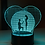 Thumbnail: LED LAMP - Will you marry me design