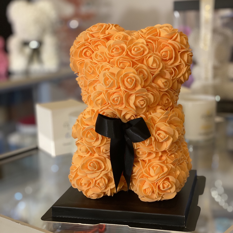 Thumbnail: Small Flower Bear - Orange