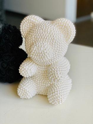 Small Pearl Bear White