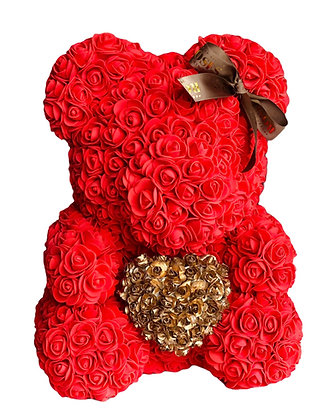 GOLDEN EDITION - Red with Gold Heart