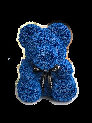Flower Foam Bear - Dark Blue