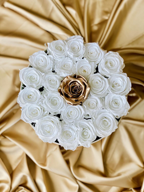 Preserved Roses Flowerbox