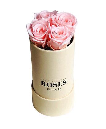 The Solo Box - Beige - Choose Mini Roses Colors