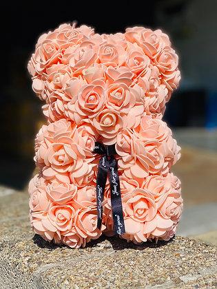Small Flower Foam Bear - Blush