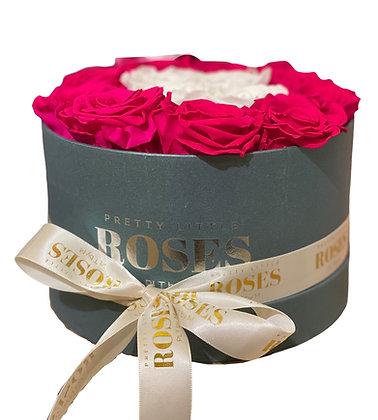 La Mignonne Metallic Grey - Choose Color Roses