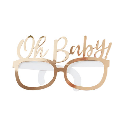 OH BABY FUN GLASSES BABY SHOWER PROPS