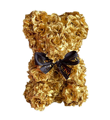 Small Gold Flower Bear