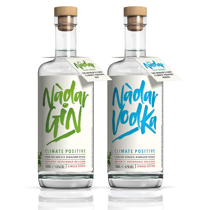 Say Hello to Nàdar – the world's first climate positive gin and vodka