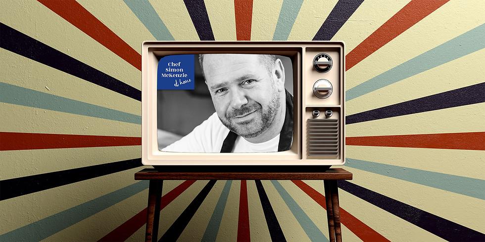 "Cook - A -long LIVE! Salmon & Spinach 'en croute"""