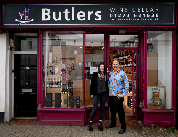 Cassie Gould and Henry Butler of Butlers