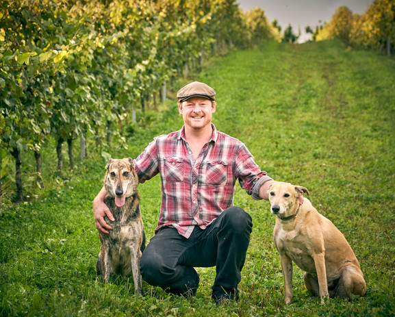 Wiston Estate head winemaker Dermot Sugr