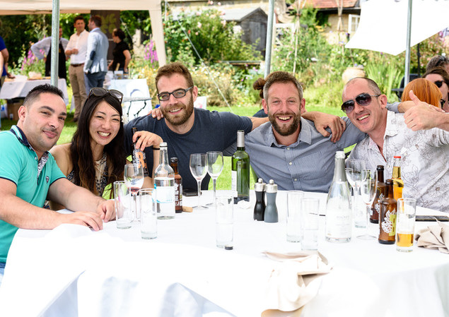 Industry trade day lunch at Jeremys Rest