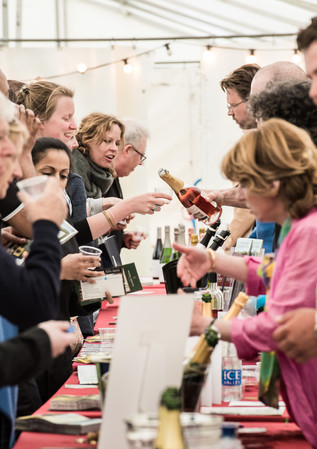 English Wine Week Festival on Hove Lawns