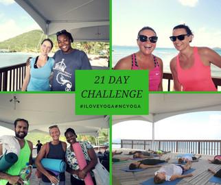 yoga challenge BVI