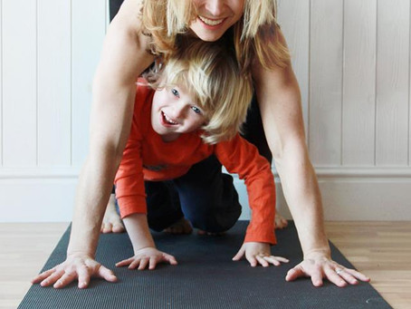 Yoga with your child