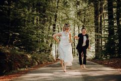 Zu spät um davon zu laufen ;) ... Ihr könnt auch den angrenzenden Wald für Fotos nutzen...