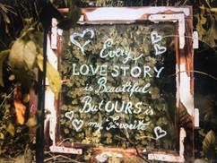 Im Garten könnt ihr an vielen Ecken unsere liebevoll gestalteten Plätze entdecken...