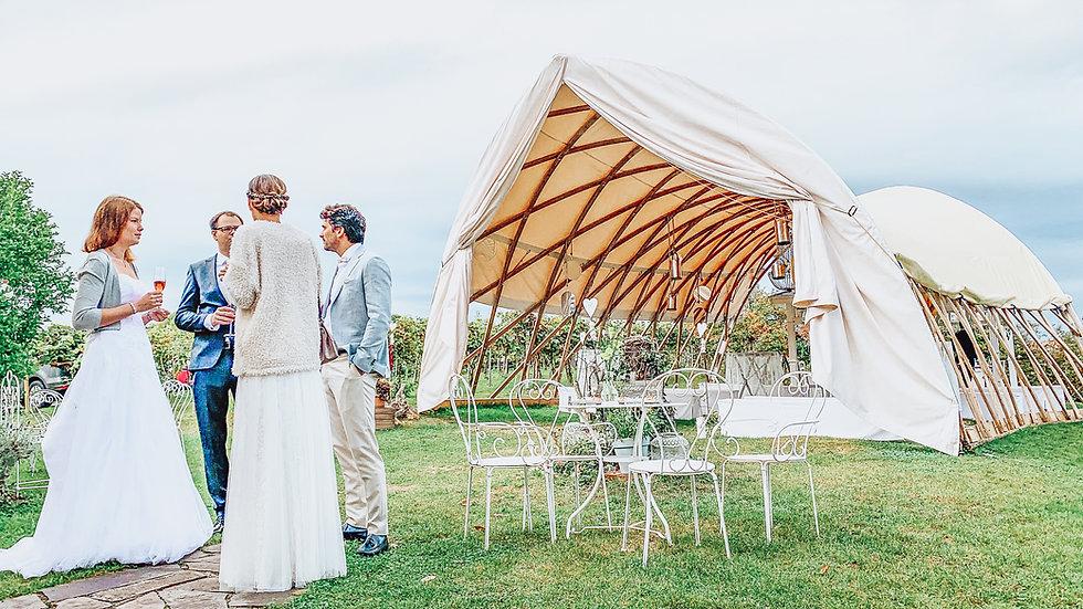 Heiraten in der Träumerei im Südburgenland - mitten im Grünen