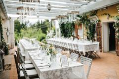 Die Tafel können wir nach euren Wünschen und der Gästeanzahl individuell gestalten...