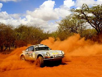 Ryan completes East African Safari Classic