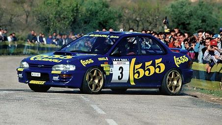Subaru Impreza Rally Car N555 BAT
