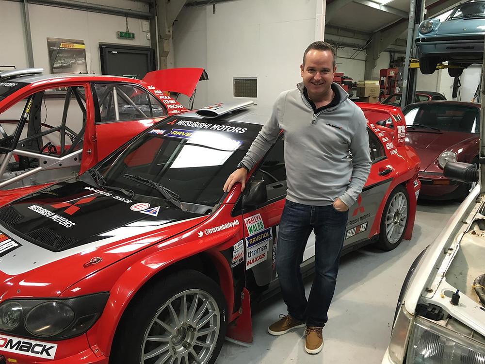 Ryan Champion Mitsubishi WRC for Trackrod Rally