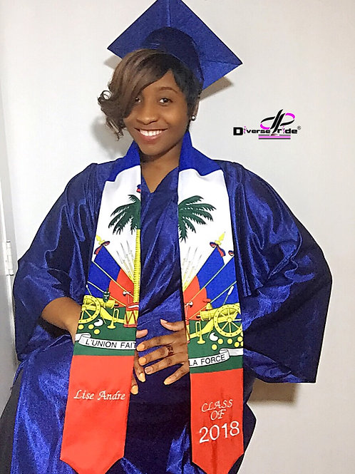 Graduation stole (embroidery)