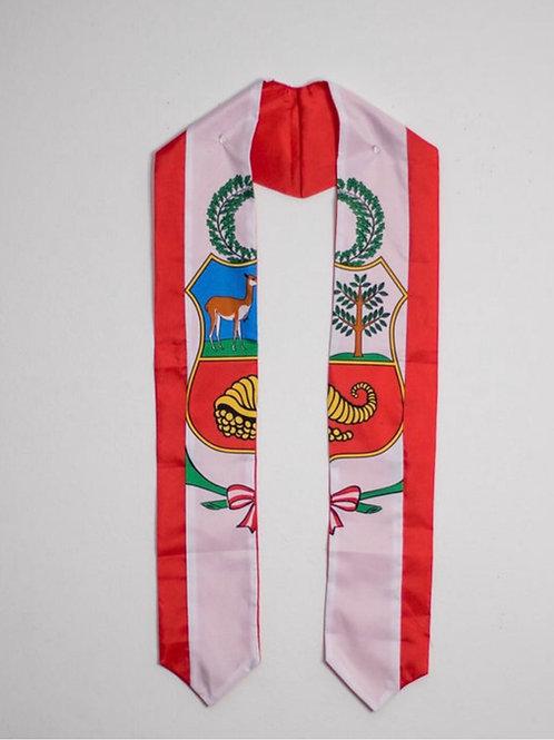 Peru graduation sash