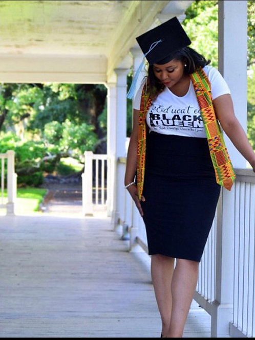 Authentic African graduation stole