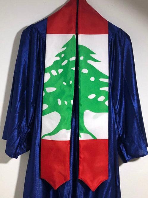 Lebanon graduation sash
