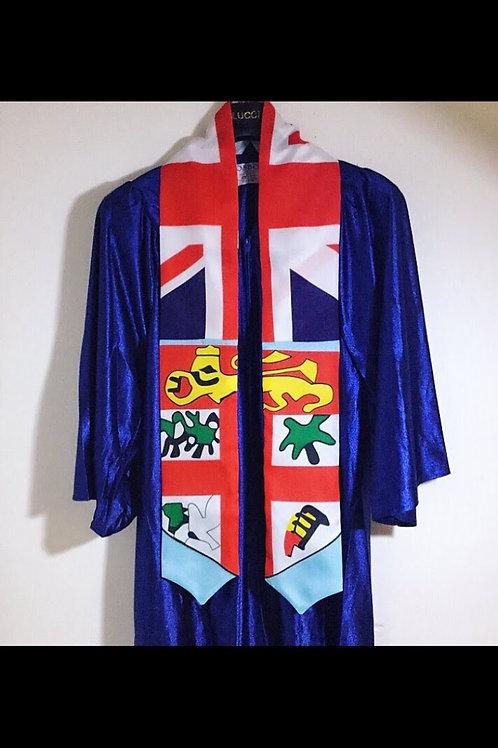 Fiji graduation sash