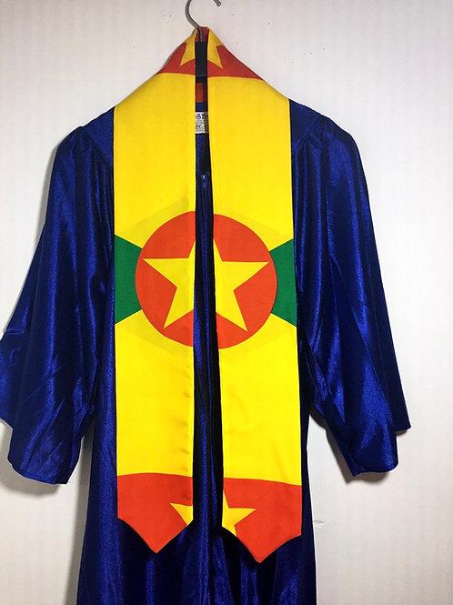 Grenadine graduation sash