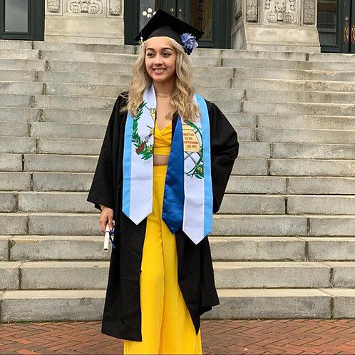 Guatemala graduation stole