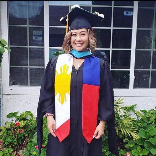 Phiippines graduation stole/ sash