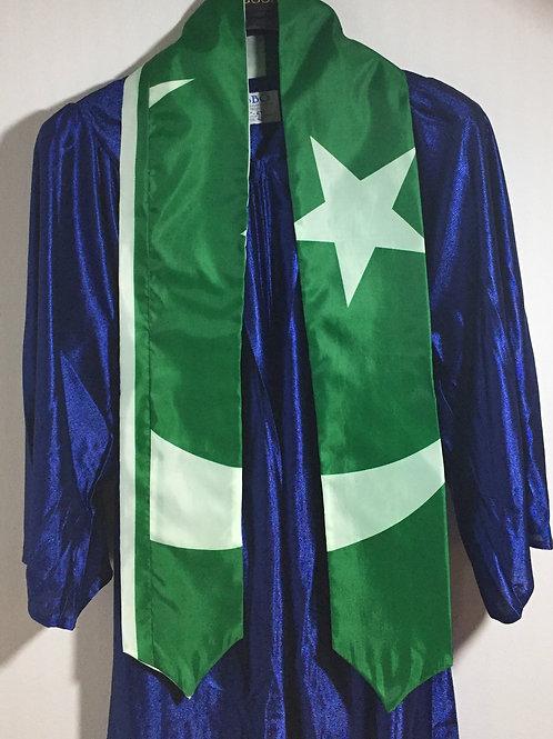 Pakistan Graduation stole/sash