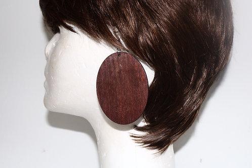 Wodden earring