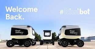 EL ROBOT QUE REPARTE COMIDA: KIWIBOT