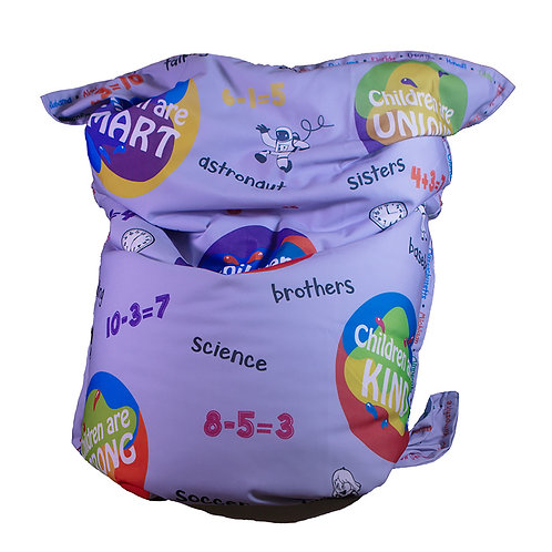 KristiKollectionsLLC Inspirational Bean Bag Cover & Liner