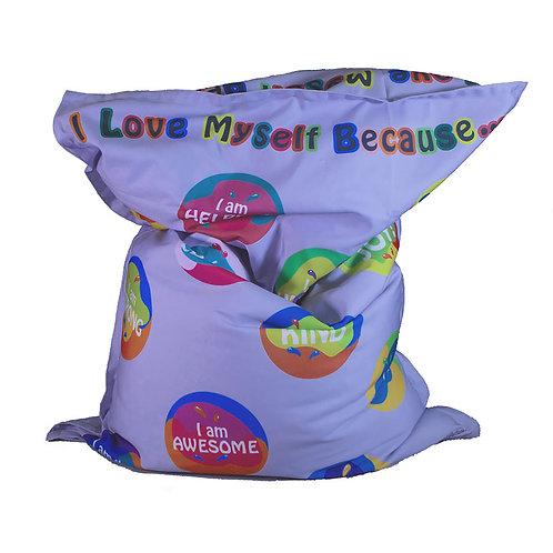 KristiKollectionsLLC Inspirational Bean Bag Cover & Liner