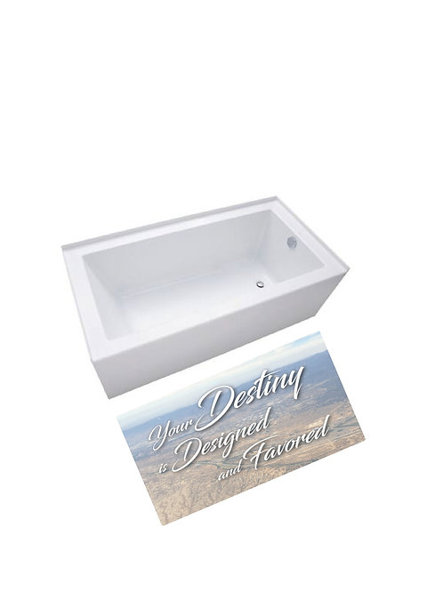 Memory Foam Bathmat-Your Destiny is Designed & Favored