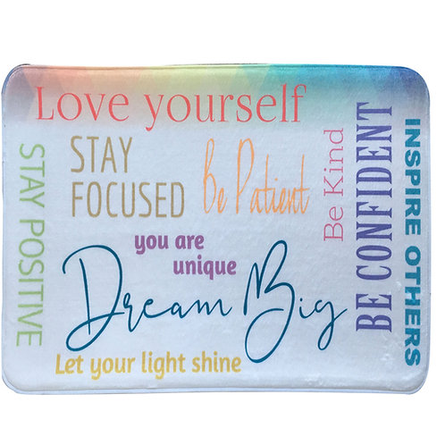 Inspirational Memory Foam Bathmat-#8