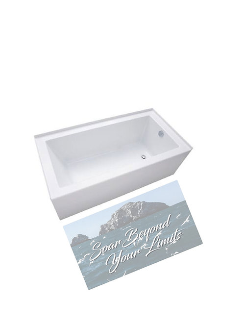 Memory Foam Bathmat-Soar Beyond Your Limits