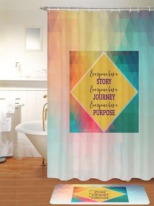 KRISTIKOLLECTIONSLLC Inspirational Shower Curtain-07