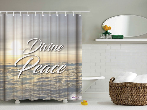 Adult Inspirational Shower Curtain